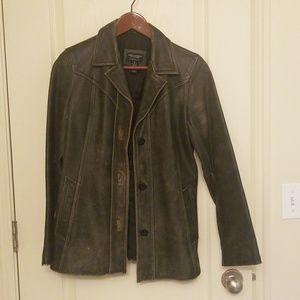 American Eagle Leather Jacket